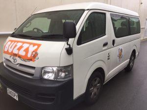 rental Passenger van